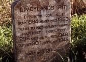 Memorial stone to Limeylands Colliery © Scottish Mining Museum