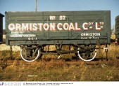 Ormiston Coal Company colliery wagon © East Lothian Museums Service